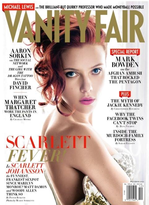 Scarlett Johansson – Vanity Fair – Nov. 2011
