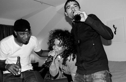 Rihanna – Facebook Candids – 4