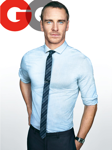Michael Fassbender  – GQ Men of the Year 2011 Issue
