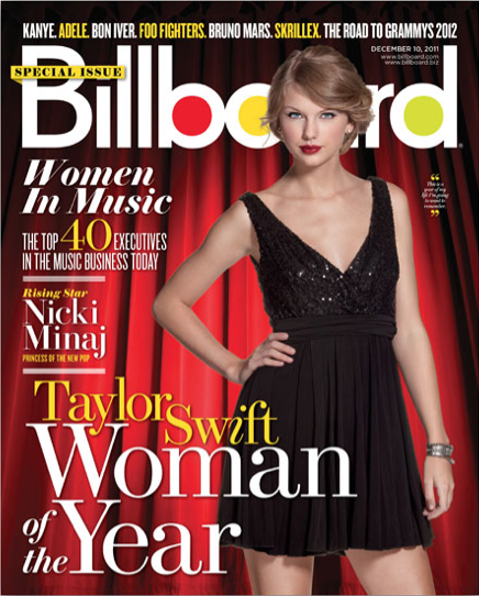 Taylor Swift – Billboard Woman of the Year 2011 – Cover