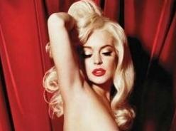 Lindsay Lohan – Playboy – Full Spread Photos – 3