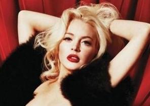 Lindsay Lohan – Playboy – Full Spread Photos – 6