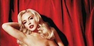 Lindsay Lohan – Playboy – Full Spread Photos – 9