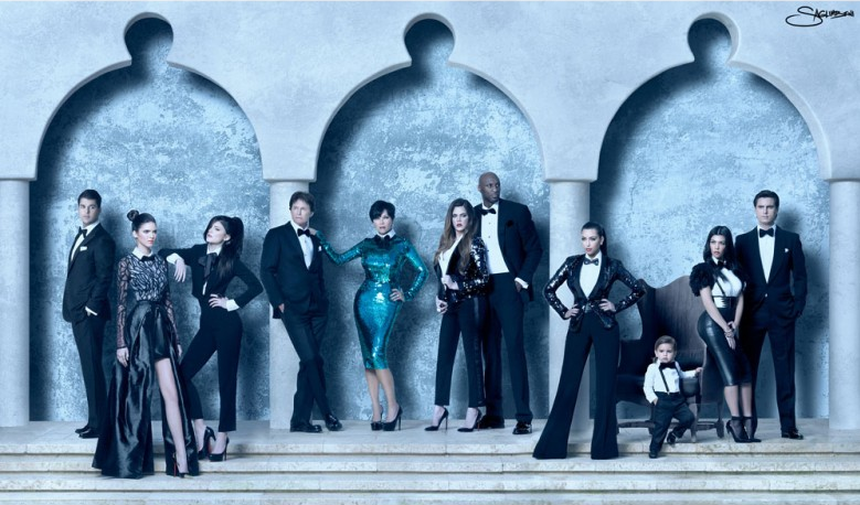 Kardashians – Christmas Card 2011