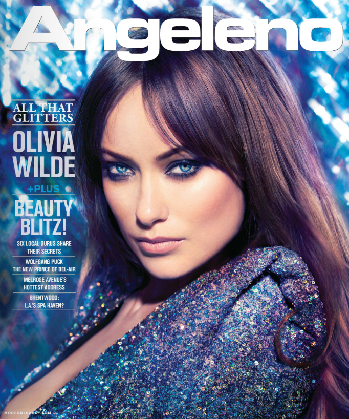 Olivia Wilde – Angeleno Mag – March 2012 – Cover