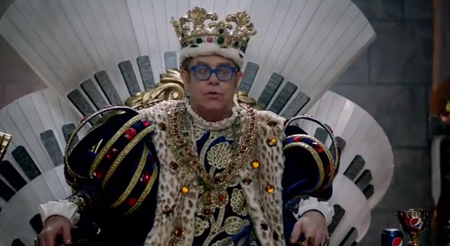 WATCH! Melanie Amaro and Elton John in the 2012 Pepsi Super Bowl Commercial