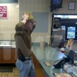 Michael Lohan Gets Job at Burger King???