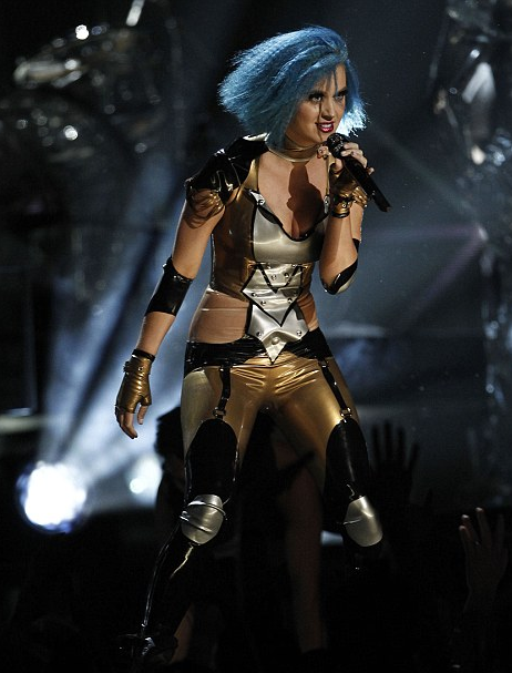VIDEO: Katy Perry 2012 Grammys Performance ' Part of Me' Rips Up Russell Brand