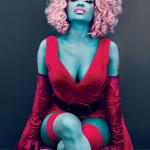 Nicki Minaj Turns Bue For Vogue