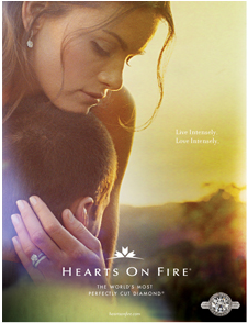 The Bachelor – Courtney Robertson – Hearts on Fire Ads – 1
