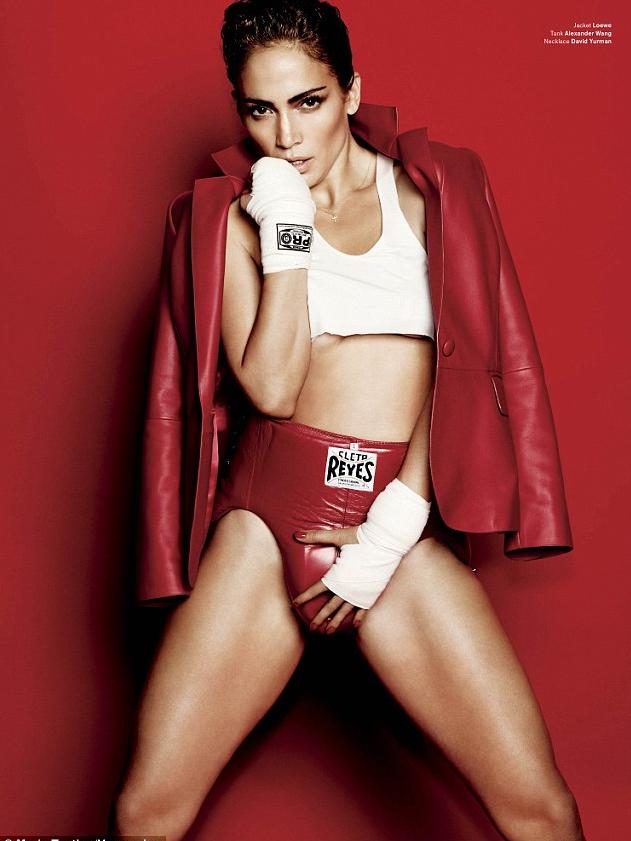 Jennifer Lopez – V Magazine – Sports Issue – 2