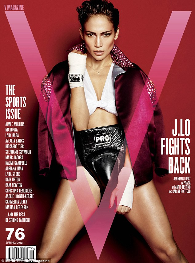 Jennifer Lopez – V Magazine – Sports Issue –  cover