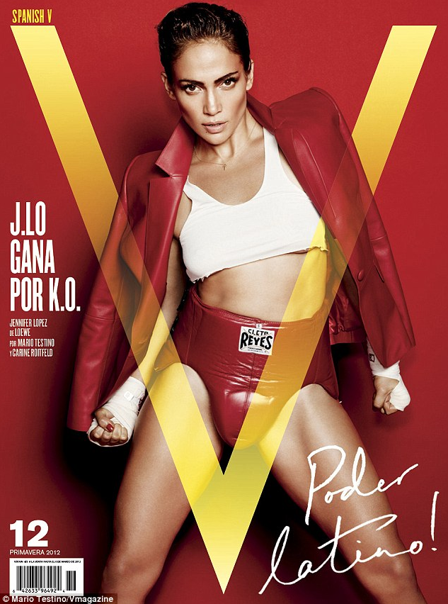 Jennifer Lopez – V Magazine – Sports Issue –  cover 2