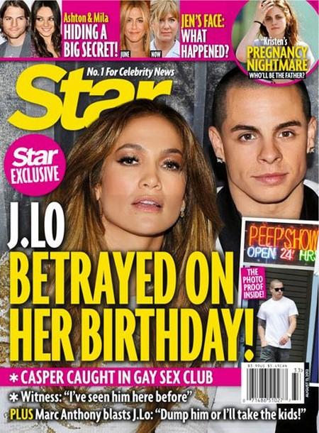Casper Smart Betrayed Jennifer Lopez In A Sex Club On Her Birthday (Photo)