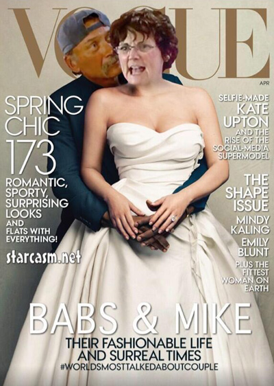 Teen Mom Jenelle Evan's Mother Barbara Evans And Her BF Mike Steal Kimye's Vogue Cover (PHOTO)