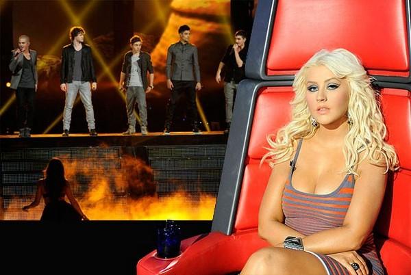 The Wanted Christina Aguilera