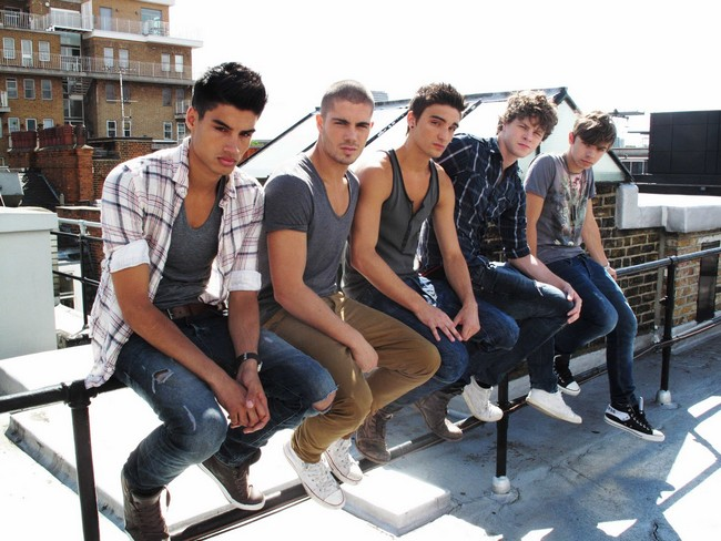 The Wanted US cracking