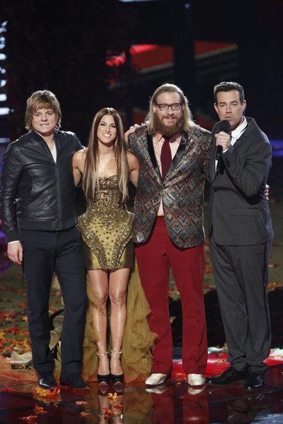 """The Voice Season 3 """"Live Finale"""" Recap 12/18/12"""