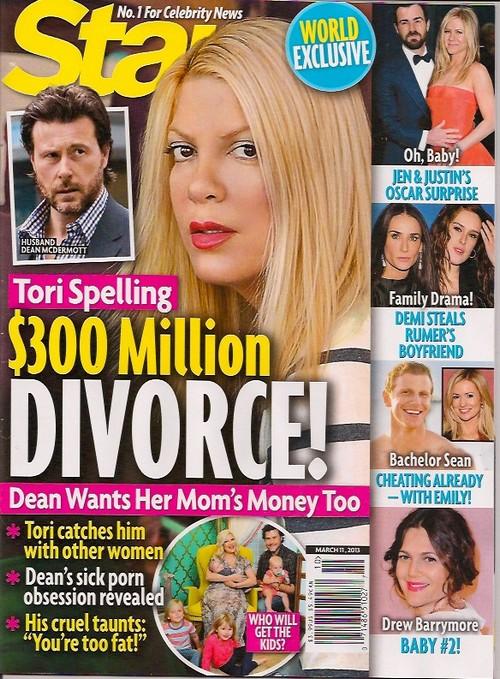 Tori Spelling and Dean McDermott Headed for Divorce