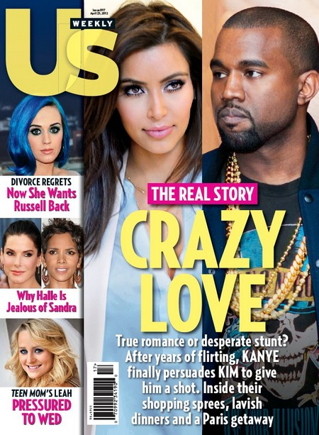 Kayne West & Kim Kardashion - True Romance Or Desperate Stunt