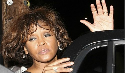 Whitney Houston Beverly Hilton Hotel