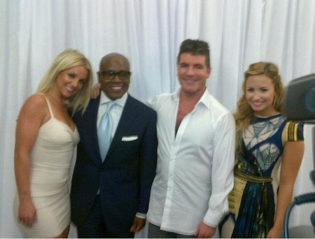 Britney Spears, Demi Lovato and L.A. Reid WALK Out Of X Factor USA Auditions
