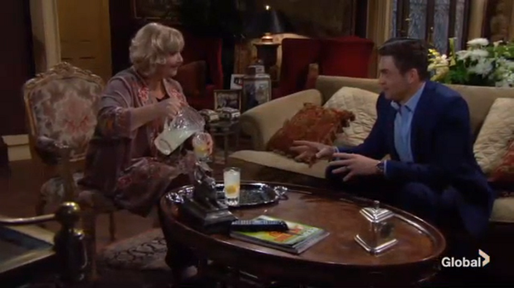 The Young And The Restless Spoilers Wednesday May 15 Rey Demands A Paternity Test Traci S Keen On Cane News Of Adam S Return Spreads Hollywood Hiccups