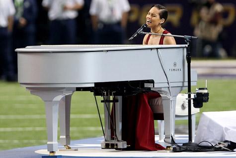 Report: Alicia Keys' Super Bowl National Anthem Was Disrespectful