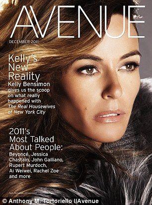 Kelly Bensimon – Avenue Mag – Photos – Cover
