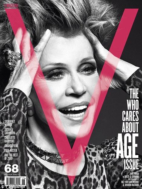 Jane Fonda V Magazine