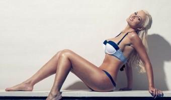 PHOTOS: Holly Madison Works The Retro Bikini