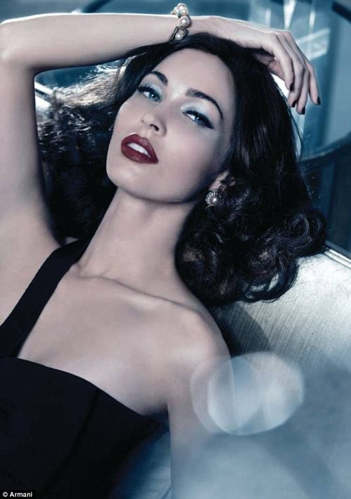 Megan Fox – Armani Cosmetics –