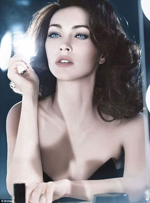 Megan Fox – Armani Cosmetics –  2