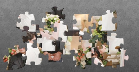 'The Bold And The Beautiful' Puzzle Fun: Can You Put This B&B Wedding Photo Back Together