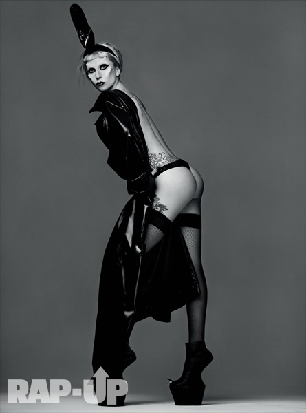 Lady Gaga Bares Her Backside (AGAIN) For 'Born This Way' Shoot