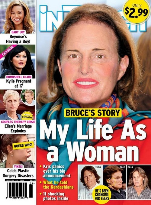 Bruce Jenner Photoshopped As A Woman On 'In Touch Weekly'