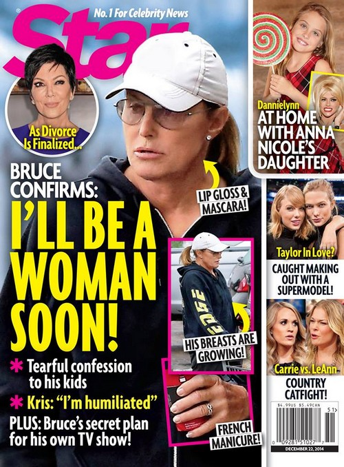 Bruce Jenner Covers 'Star'; Is Going To Be A Woman Soon (PHOTO)