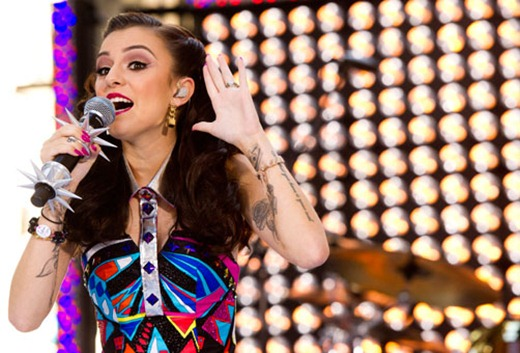 AP Cher Lloyd on Today Show