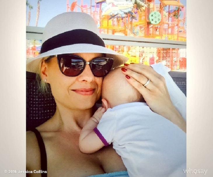 'The Young And The Restless' News: Jessica Collins Takes Baby Jemma On Her First Vacation