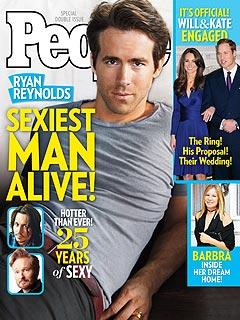 Ryan Reynolds – People Magazine Sexiest Man Alive 2010