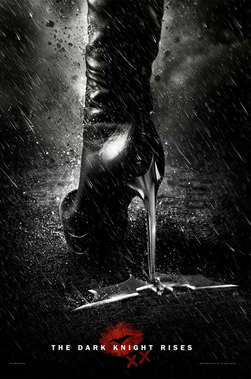 Catwoman Leaves Her Mark In The New 'Dark Knight Rises' Poster (Photo)
