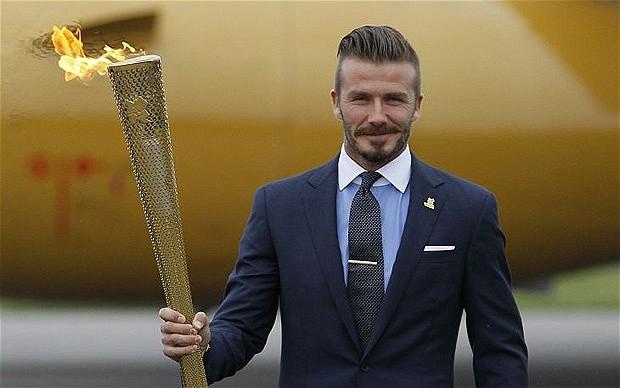 david beckham olympics