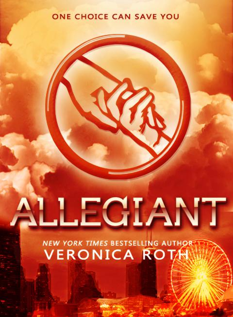Allegiant Book Black Cover ~ Divergent book three 'allegiant released and sales