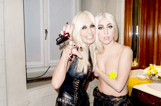 donatella and lady gaga 1