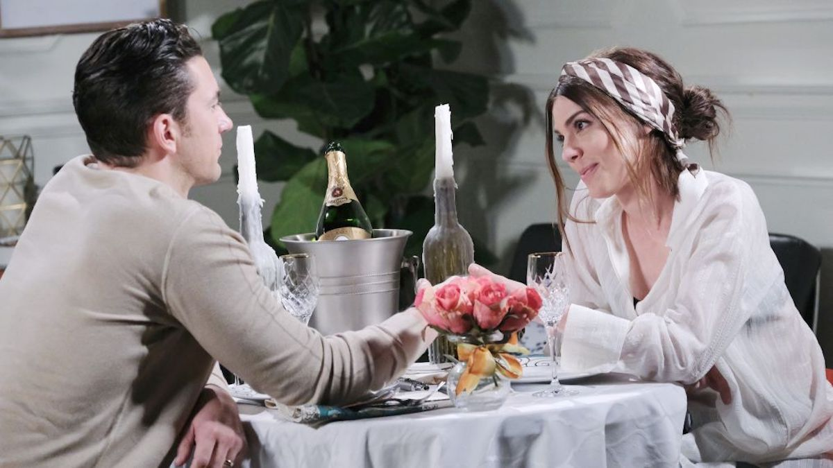 Days of Our Lives stars Kate Mansi (Abby) And Billy Flynn (Chad)