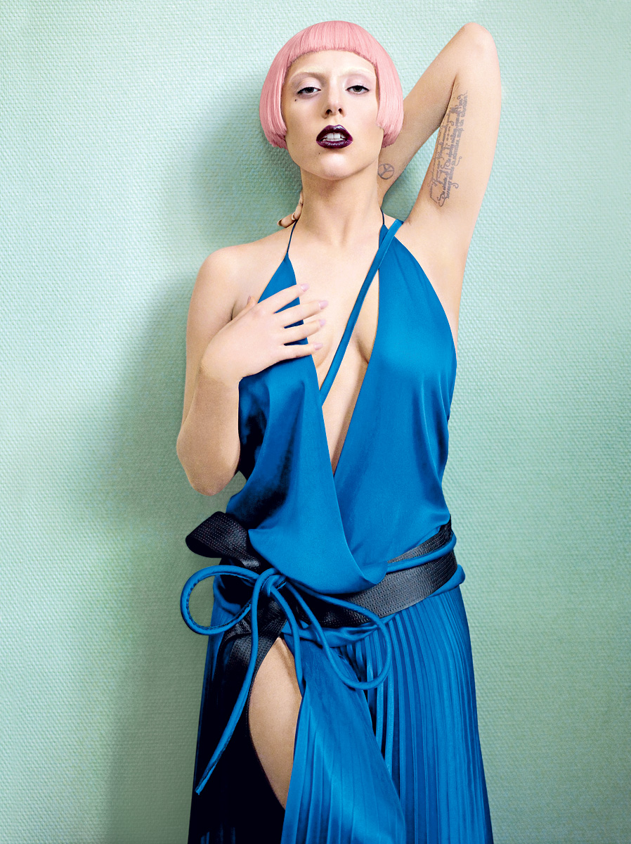 Lady Gaga Vogue March 2011 Photos