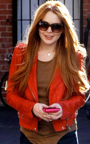 Lindsay Lohan Reclaims Her Red Hair — Has She Won You Back Yet?