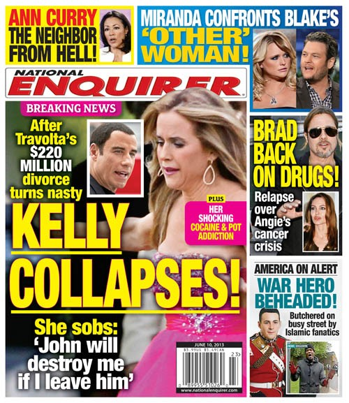 Kelly Preston Collapses Over Drug Use (Photo)