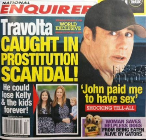 John Travolta Tries To Pay For Gay Sex