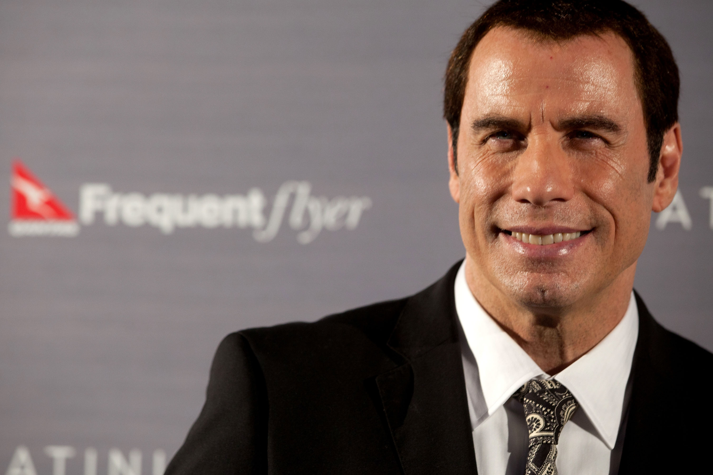 John Travolta Attends Qantas Event In Sydney
